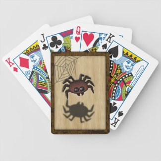 LWood Spider2 Bicycle Playing Cards