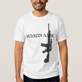 LWRC M6A3 - MOLON LABE SHIRT