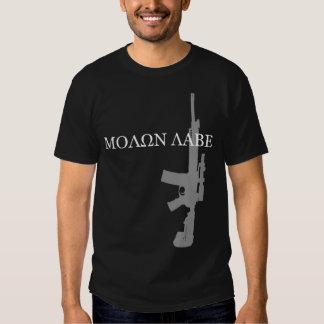 LWRC M6A3 - MOLON LABE TEE SHIRT