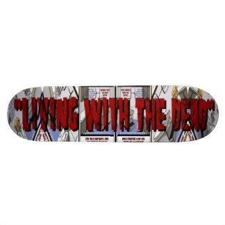 """LWTD"" CHECKUP by j3ll3yboards Skateboard"