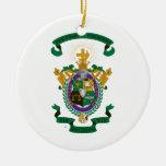 LXA Coat of Arms Ceramic Ornament
