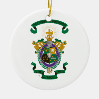 LXA Coat of Arms Ceramic Ornament