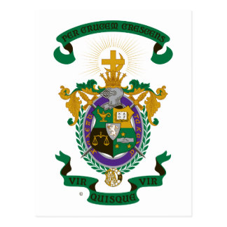 LXA Coat of Arms Postcard