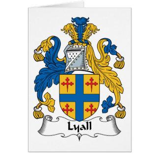 Lyall Family Crest Card
