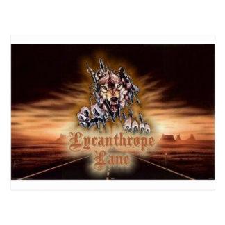Lycanthrope Lane Postcard