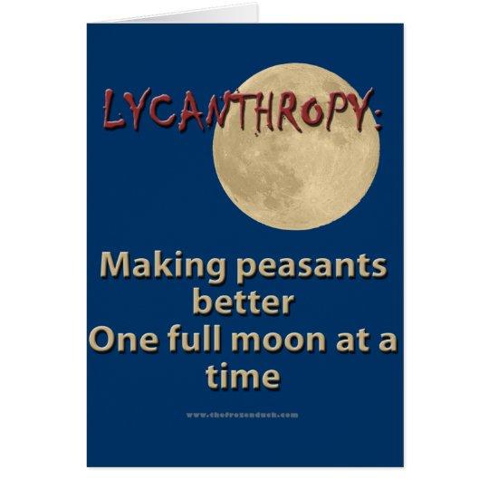 Lycanthropy Card