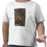 Lycaon Metamorphosed into a Wolf, 1731 (engraving) Tees