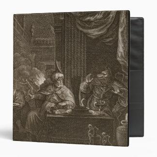Lycaon transformó en un lobo 1731 el grabado