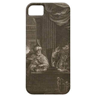 Lycaon transformó en un lobo 1731 el grabado iPhone 5 Case-Mate fundas