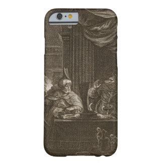 Lycaon transformó en un lobo 1731 el grabado funda de iPhone 6 slim