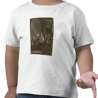Lycaon transformó en un lobo 1731 el grabado camisetas