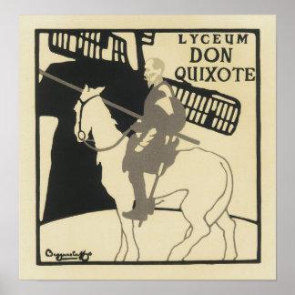 Lyceum Don Quixote, The Beggarstaffs Print