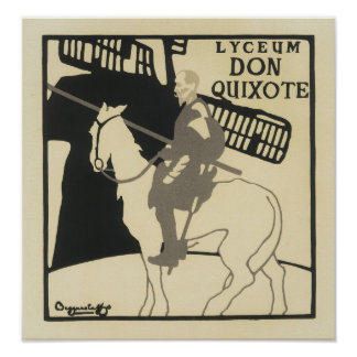 Lyceum Don Quixote, The Beggarstaffs Poster