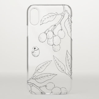 Lychee Cell Phone Case (Clear)