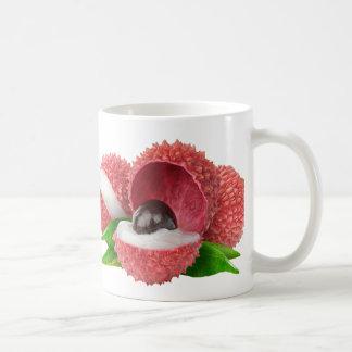 Lychee fruits coffee mug