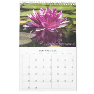 Lychee subió el calendario floral 2016