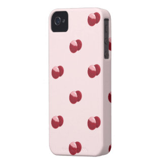 lychees pattern iphone 4 iPhone 4 Case-Mate case
