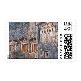 Lycian rock tombs Postage Stamps