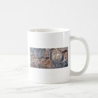 LYCIAN ROCK TOMBS TURKEY COFFEE MUGS