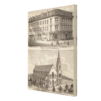 Lycoming Fire Insurance Company Canvas Print