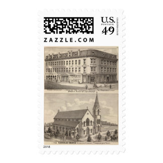 Lycoming Fire Insurance Company Postage Stamp