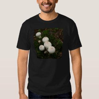 Lycoperdon puffball mushrooms shirt