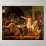 Lycurgus mostrando a los Ancients de Sparta sus Impresiones