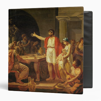 Lycurgus Showing the Ancients of Sparta their 3 Ring Binder