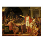 Lycurgus Showing the Ancients of Sparta their Postcard