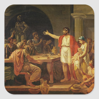 Lycurgus Showing the Ancients of Sparta their Square Sticker