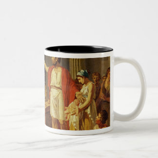 Lycurgus Showing the Ancients of Sparta their Two-Tone Coffee Mug