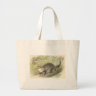 Lydekker - Azara's Opossum - Didelphys azara Large Tote Bag
