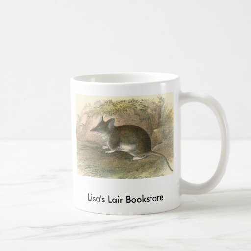 Lydekker - Common Pouched-Mouse Bookstore Promo Classic White Coffee Mug