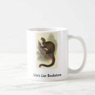 Lydekker - Taguan Flying Phalanger/Possum Promo Classic White Coffee Mug