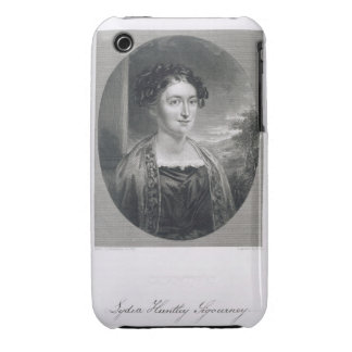 Lydia Huntley Sigourney (1791-1865), engraved by B iPhone 3 Case