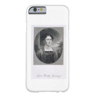 Lydia Huntley Sigourney (1791-1865), grabado por B Funda Barely There iPhone 6