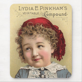 Lydia Pinkhams Vegetable Compound Mouse Pad