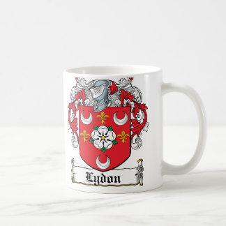 Lydon Family Crest Classic White Coffee Mug