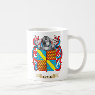 Lyell Coat of Arms (Family Crest) Classic White Coffee Mug