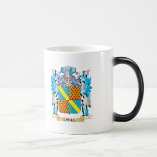 Lyell Coat of Arms - Family Crest 11 Oz Magic Heat Color-Changing Coffee Mug