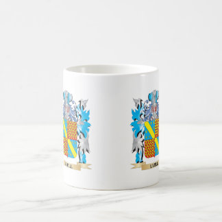 Lyell Coat of Arms - Family Crest Classic White Coffee Mug