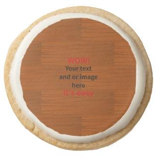 Lyer bajo de madera añade su propio texto