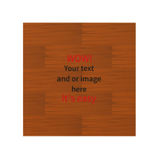 Lyer bajo de madera añade su propio texto impresión en madera