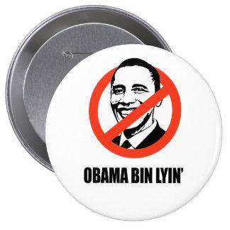 Lyin del compartimiento de Obama Pins