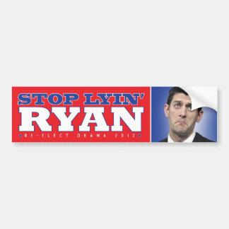 Lyin Paul Ryan Bumpersticker Pegatina Para Auto