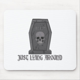 Lying Around Mouse Pad