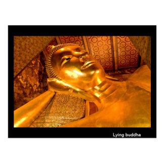 Lying Buddha Thailand Post Cards