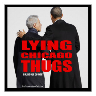 Lying Chicago Thugs Poster