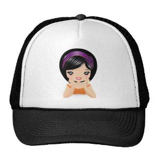 Lying Down Trucker Hat