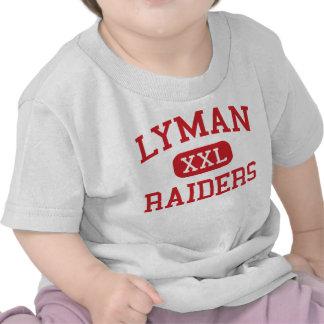 Lyman - asaltantes entrenados para la lucha cuerpo camiseta